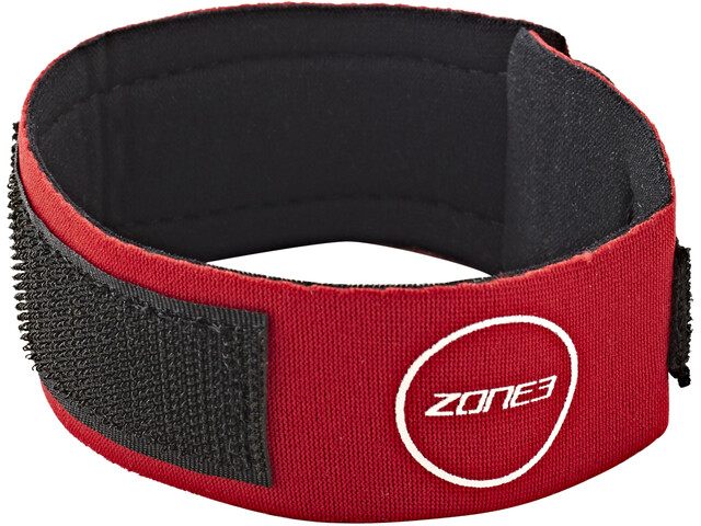 Zone3 Neoprene Timing Chip Strap rød (2019)   misc_clothes